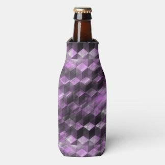 粋な紫色パターン ボトルクーラー