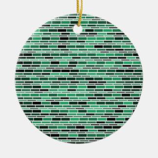 粋な緑ガラスのSubeayのタイルパターン セラミックオーナメント