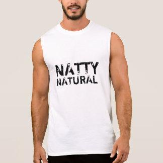 粋な自然 袖なしシャツ