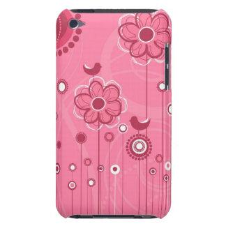 粋な花の装飾 Case-Mate iPod TOUCH ケース
