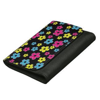 粋な花模様の財布