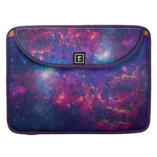 粋な銀河系のプリント/星雲 MacBook PROスリーブ
