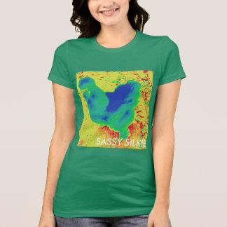 粋なSilkieの鶏 Tシャツ