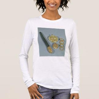 粒状にされていた装飾、Suが付いているWhetstoneそしてリングや輪 長袖Tシャツ
