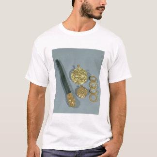 粒状にされていた装飾、Suが付いているWhetstoneそしてリングや輪 Tシャツ