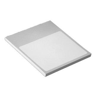 粒状の灰色のアートな背景 ノートパッド