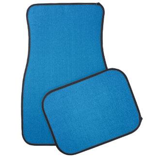 粒状の質のシンプルで明るい青 カーマット