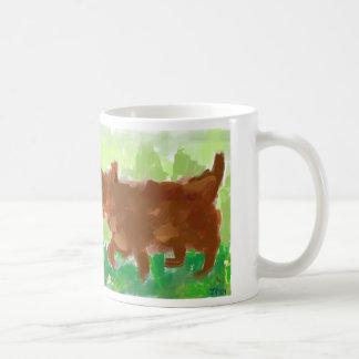 粗紡機の俳句 コーヒーマグカップ