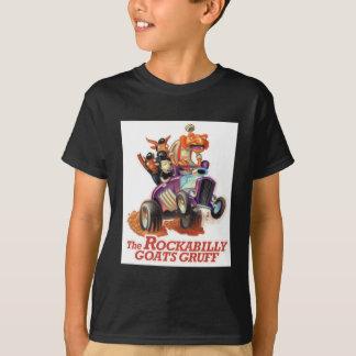粗野なロカビリーのヤギ-トロールを改造しました Tシャツ