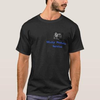 粘着性がある保護サービス Tシャツ