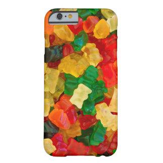 粘着性くまの虹によって着色されるキャンデー BARELY THERE iPhone 6 ケース