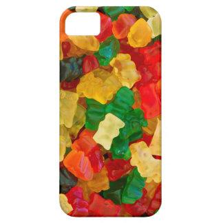 粘着性くまの虹によって着色されるキャンデー iPhone SE/5/5s ケース