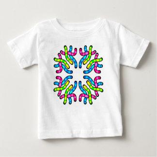 粘着性みみずのTシャツ ベビーTシャツ