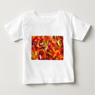 粘着性みみず ベビーTシャツ