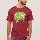 粘着物のおもしろいのグラフィックのティー Tシャツ