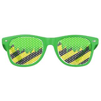 粘着物の危険のサングラス レトロサングラス