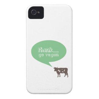 精力的なビーガン Case-Mate iPhone 4 ケース