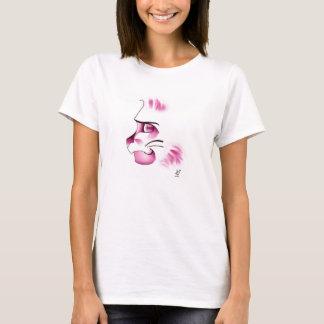 精力的猫 Tシャツ