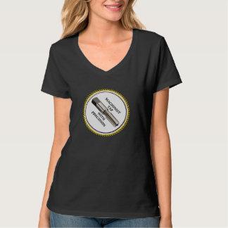 精密の機械工のタップ Tシャツ