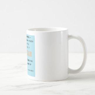 精神および真実のマグ コーヒーマグカップ