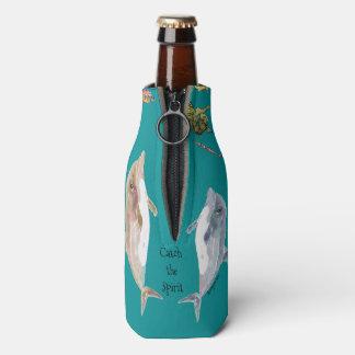 精神のイルカの魚の海をつかまえて下さい ボトルクーラー
