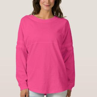 精神のジャージーのワイシャツのテンプレートDIYはイメージの文字を加えます スピリットジャージー