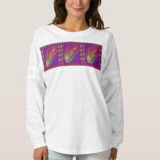 精神のジャージーのワイシャツの火の火炎信号のお祝い スピリットジャージー