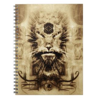 精神のノートの家のシャーマン ノートブック