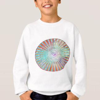精神のパワー太陽エネルギーライト陰の波 スウェットシャツ
