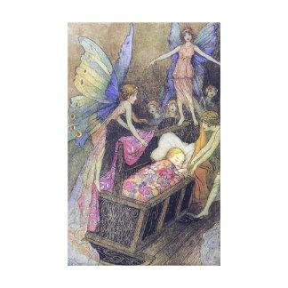 精神のベビーの子守唄のWarwick Gobleのファインアート キャンバスプリント