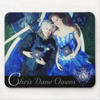 精神のマウスパッドのクリスのデンマーク人Owens マウスパッド