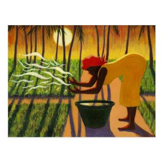 精神の庭2007年 ポストカード