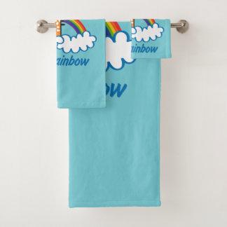 精神の虹 バスタオルセット