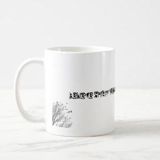 精神の驚異の魔法を作成します夢を信じて下さい コーヒーマグカップ