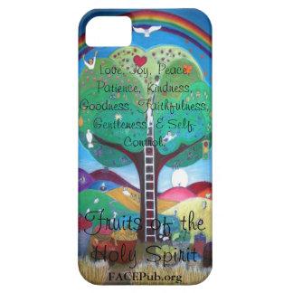 精神のIphone 5の例のフルーツ iPhone SE/5/5s ケース