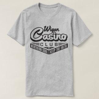 精神のWiganの北のレトロすべてのNighterの信頼のティー Tシャツ