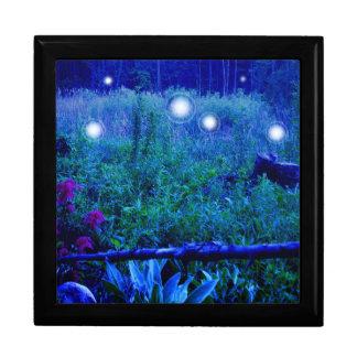 精神は夜場面湿地草原の青をつけます ギフトボックス