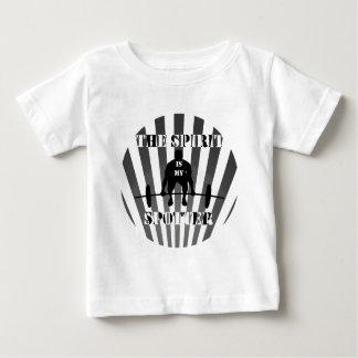 精神は私の監視人です ベビーTシャツ
