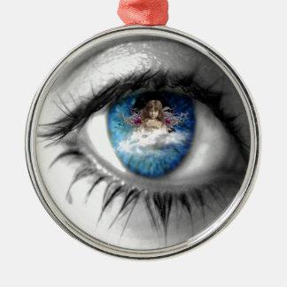 精神への目 メタルオーナメント