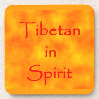 精神コルクのコースターのチベット語 コースター