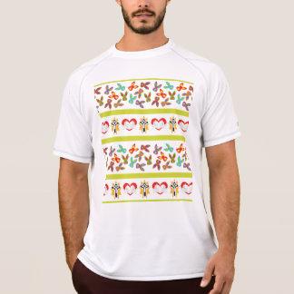 精神分析のイースターパターンカラフル Tシャツ