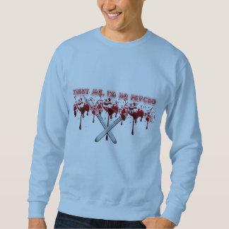 精神分析の袖のワイシャツのデザイン無し! スウェットシャツ
