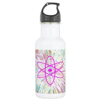 精神力: 太陽エネルギーの芸術的なデザイン ウォーターボトル