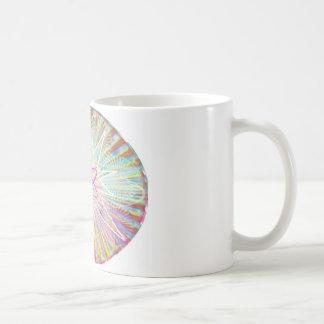 精神力: 太陽エネルギーの芸術的なデザイン コーヒーマグカップ
