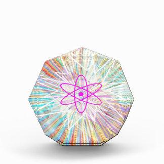 精神力: 太陽エネルギーの芸術的なデザイン 表彰盾