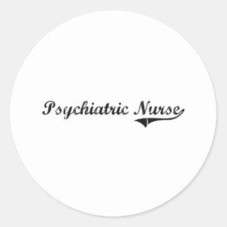 精神医学のナースのプロフェッショナルの仕事 ラウンドシール