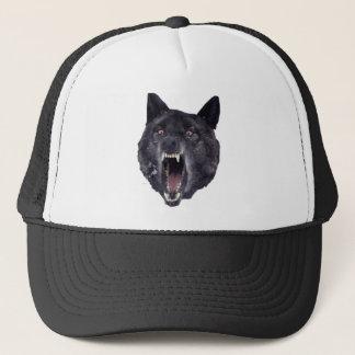 精神異常のオオカミ キャップ