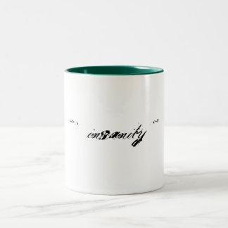 精神異常のコーヒー・マグのプロダクト ツートーンマグカップ