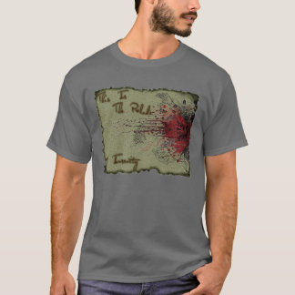 精神異常のプレリュード Tシャツ