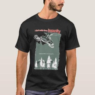精神異常の暗闇 Tシャツ